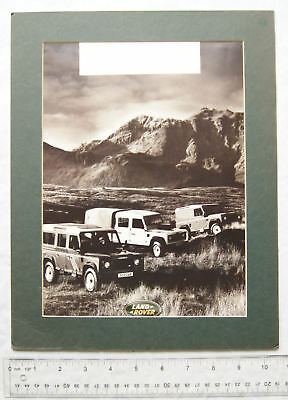 c.1990s advert for Land Rover Defender
