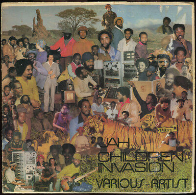 Various Artists - Jah Children Invasion US Wackie's LP Listen!