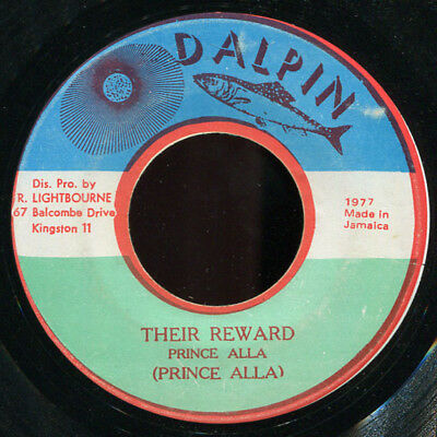 "Prince Alla - Their Reward JA Dalpin 7"" Listen!"