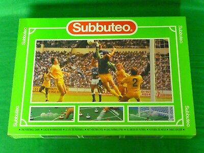Subbuteo Club Edition Boxset 60140, Complete (Manchester City V Spurs)