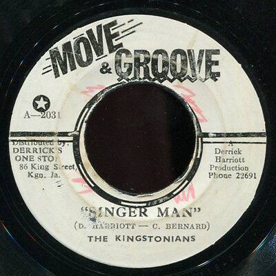 "Kingstonians - Singer Man JA Move & Groove 7"" Listen!"