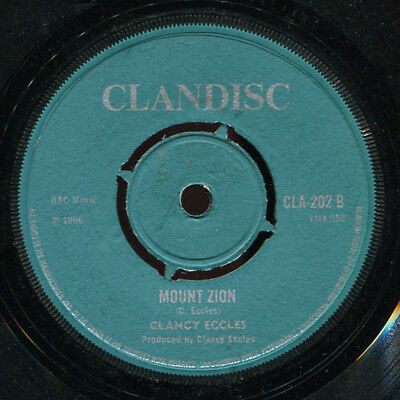 "King Stitt - Vigarton 2 / Clancy Eccles - Mount Zion UK Clandisc 7"" Listen!"