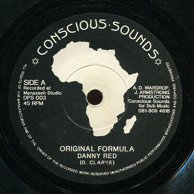 "Danny Red - Original Formula UK Conscious Sounds 7"" Listen!"