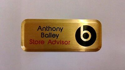 Name Badges - Full Colour Personalised- ID/Staff/Corporate