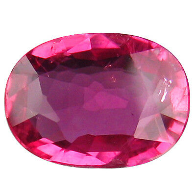 """0.86Ct """"GIL"""" CERTIFIED UNIQUE COLLECTION AMAZING FIRE MOZAMBIQUE UNHEATED RUBY"""