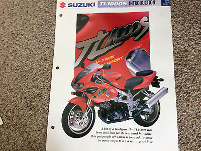 SUZUKI TL1000S the complete data/fact file from essential superbikes