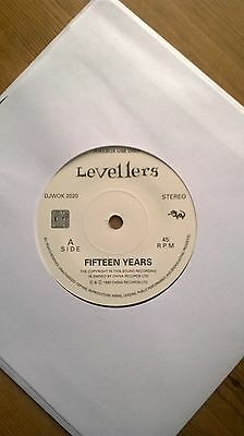 Levellers, Fifteen Years, 7in promo single DJWOK2020 1992