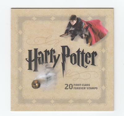 Usa Harry Potter Booklet Superb And Post Office Fresh Starts At Face Value
