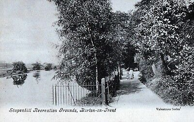 Postcard- View of Stapenhill Recreation Grounds, Burton-on-Trent, Staffordshire.