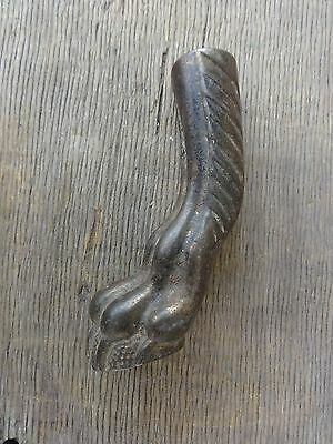 Antique Cast Iron Claw Shaped Parlor Table Foot (Single) No Reserve