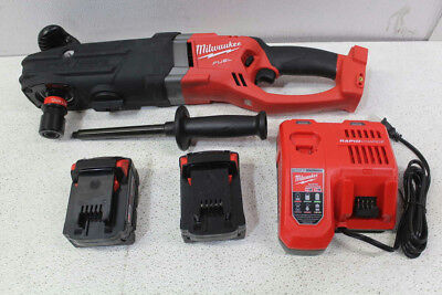 Milwaukee M18 FUEL Super Hawg Right Angle Drill Kit 2711-22