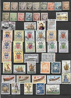 Mozambique  Stamps  (52  Asst) Used