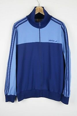 ADIDAS Vintage 80'S JACKET TRACK TOP SIZE LARGE (A348)
