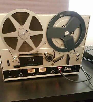 Akai 4000D 4 track reel to reel recorder