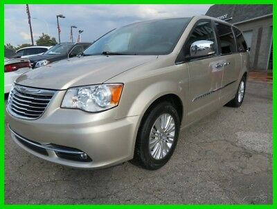 2012 Chrysler Town & Country Limited 2012 Limited Used 3.6L V6 24V Automatic FWD Minivan/Van clean clear title carfax