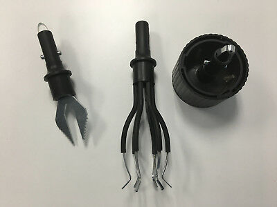 LOT OF 3 Vintage Accessories For Telescoping Pole Light Bulb Changing  B3641