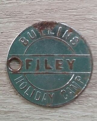 Early Vintage Butlins token (2/6 value )from Filey.