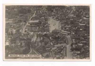 Berks Wantage Aerial View Town Centre by Airco Aerials 1922 Great View Postcard