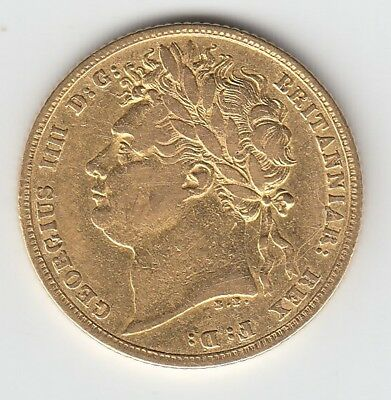 1822 George IV Gold Sovereign - Great Britain