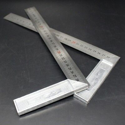 Engineers Square Measuring Building Ruler Tool Right Angle Straight Edgel Lineal