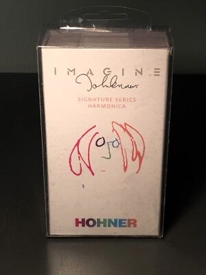 "Hohner John Lennon ""imagine"" 2011 Signature Harmonica - Mint In Sealed Box!"