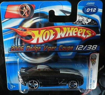 Hot Wheels - collezione - Dodge Viper coupé 12/38 2006 First Editions - Muscle