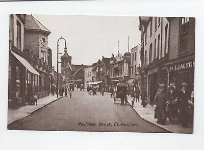 Early postcard Moulsham Street Chelmsford Essex