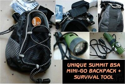 New Official Boy Scout Summit Mini-Go Backpack/shoulder/hiking/bag-Passport Case
