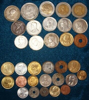 THAILAND - 33 x Coin Mix
