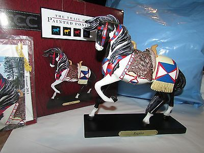 2013 TRAIL OF PAINTED PONIES REGALIA CROW  Indian HORSE NIB RETIRED!