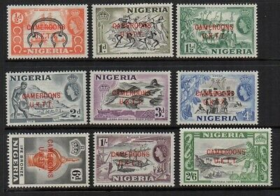 Nigeria - Cameroons, 1960 overprints collection.