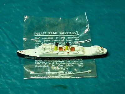 Vintage Triang Ships Minic M724 Channel Steamer Isle of Sark