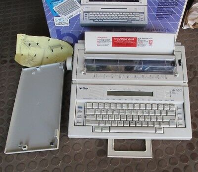 Brother AX-550 Electronic Word Processor/Typewriter ~ Nice Condition in BOX!