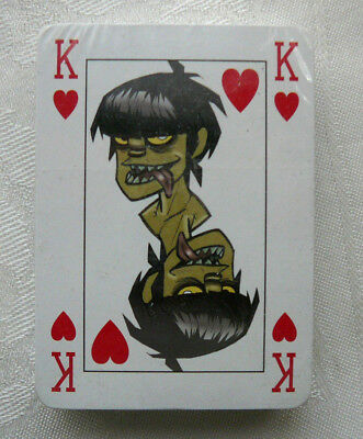 Gorillaz Deck Of Poker Playing Cards Promo Issue Still Sealed