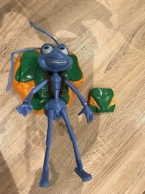 Vintage A Disney Pixar Bugs Life Flik Room Guard With Sounds Wall Mount Or Stand