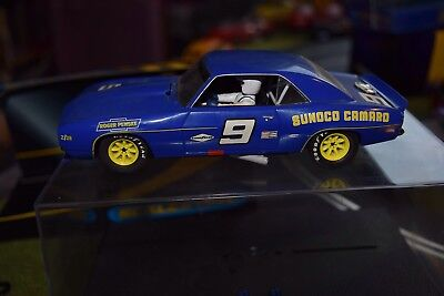 Scalextric C2400 Chevrolet Camaro 1969 used 1/32 slot car with poor box