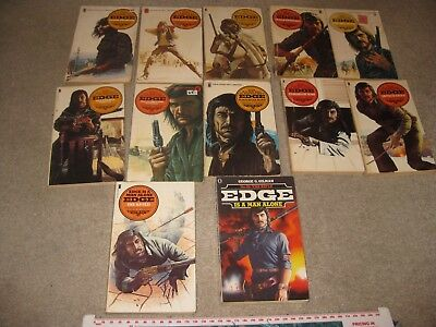 Edge Westerns Number 5, 7, 9, 11, 14, 17, 18, 22, 23, 26, 33 & 61 Job Lot Gilman