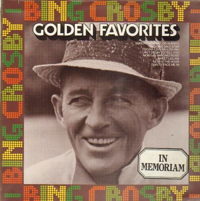Bing Crosby Golden Favorites NEW OVP MCA Vinyl LP