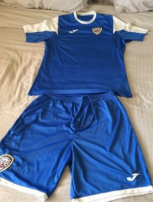 Coleraine Fc Training Top And Shorts Joma X-L Man