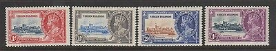 VIRGIN ISLANDS 69-72 Silver Jubilee 1935 Mint H