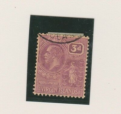 VIRGIN ISLANDS 61 3p Geo V 1922-28