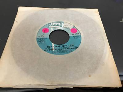 """Hank Ballard And The Midnighters – Hey There Sexy Lady 7"""" VINYL--ST5058"""