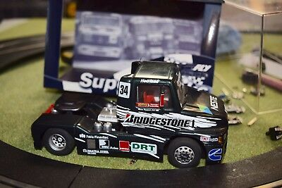 Fly Truck 3 SISU SL250 FIA 1998 used slot car 1/32 with box