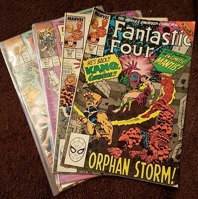 Fantastic Four comics x 4