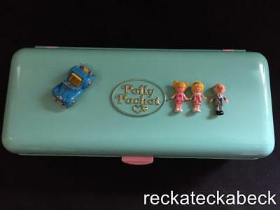 1989 Polly pocket HIGH STREET MONEY BOX  100% complete RARE