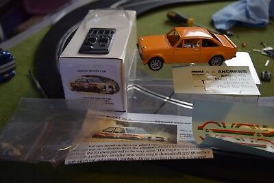 Arrow Escort MKII RS1800 Russell Brookes  slot car kit part made  1/32