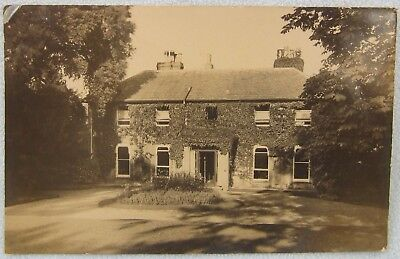 Real Photo Postcard Ashburton House STEYNING Sussex