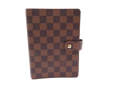 Neuf Couverture Agenda Mm Louis Vuitton R20240 Damier Ebene Diary Cover 420€