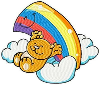 Rainbow Baby Designs 20 Machine Embroidery Designs Cd 2 Sizes Plus 2 Styles