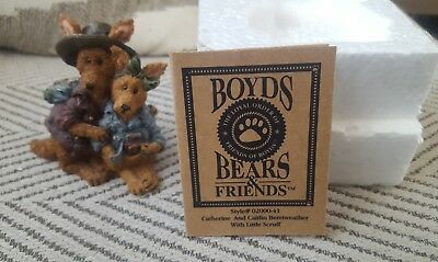 Boyds Bears & Friends Bearstones Joey and Alice Outback the Trekkers 2432